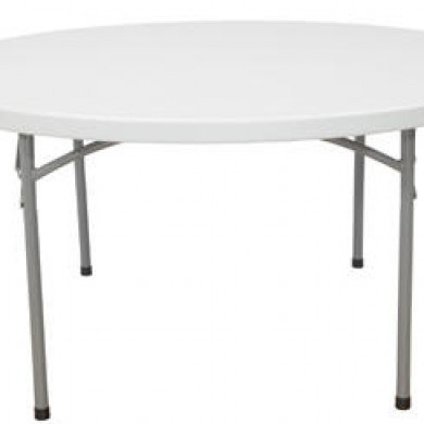 1.2m Round Folding Table