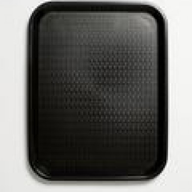 Black Plastic Serving Tray