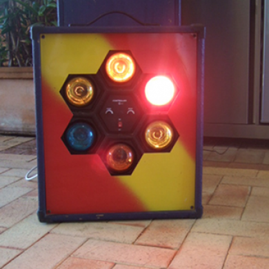Hex Lights Hire Rockingham