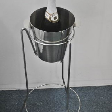 Ice Bucket with Stand Hire Rockingham