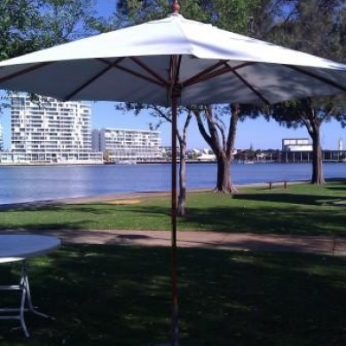 Market Umbrella Hire Rockingham