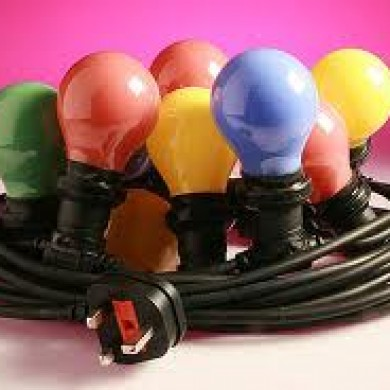Party Lights Coloured Globes