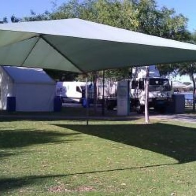 Shade Structure Hire Rockingham