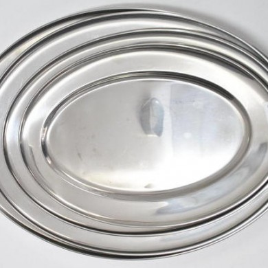 Stainless Steel Platter 400 450 500 550MM
