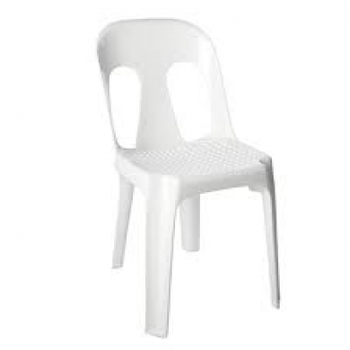 White Pipee Chair